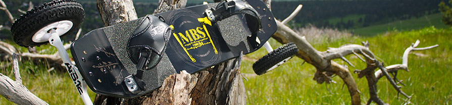 MBS Core 94 Mountainboard Top Details