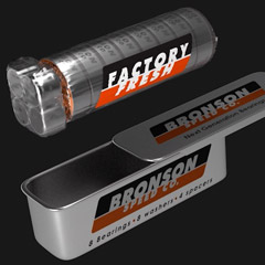 Shrink Wrapped Bearings from Bronson