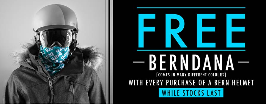 Free-Berndana with Any Bern Helmet