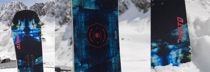 Never Summer Proto Type Two 2019 Snowboard Detail Pictures