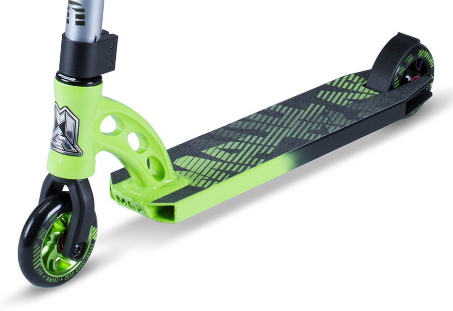 MADD MGP VX7 Pro Lime and Black Fade Scooter Parts