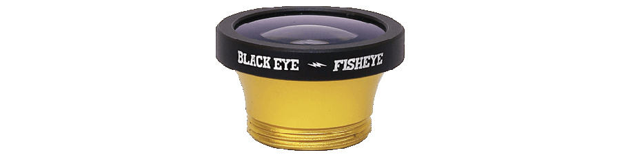 Black Eye G3 Clipper 180 Fisheye Lens