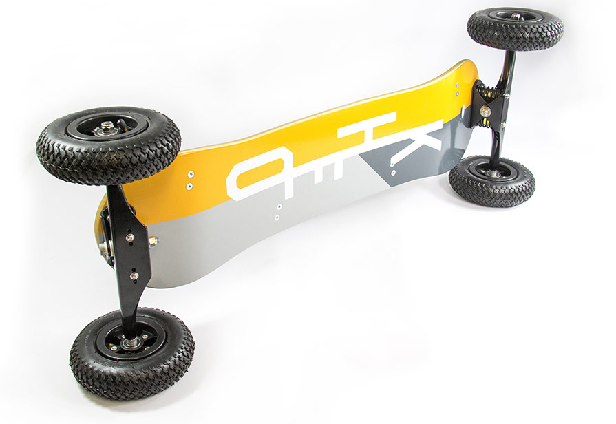 Kheo Flyer Mountainboard Base Detail