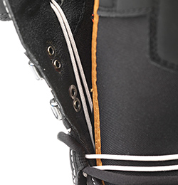deeluxe original snowboard boot 2017 softer construction and c3 lacing close up