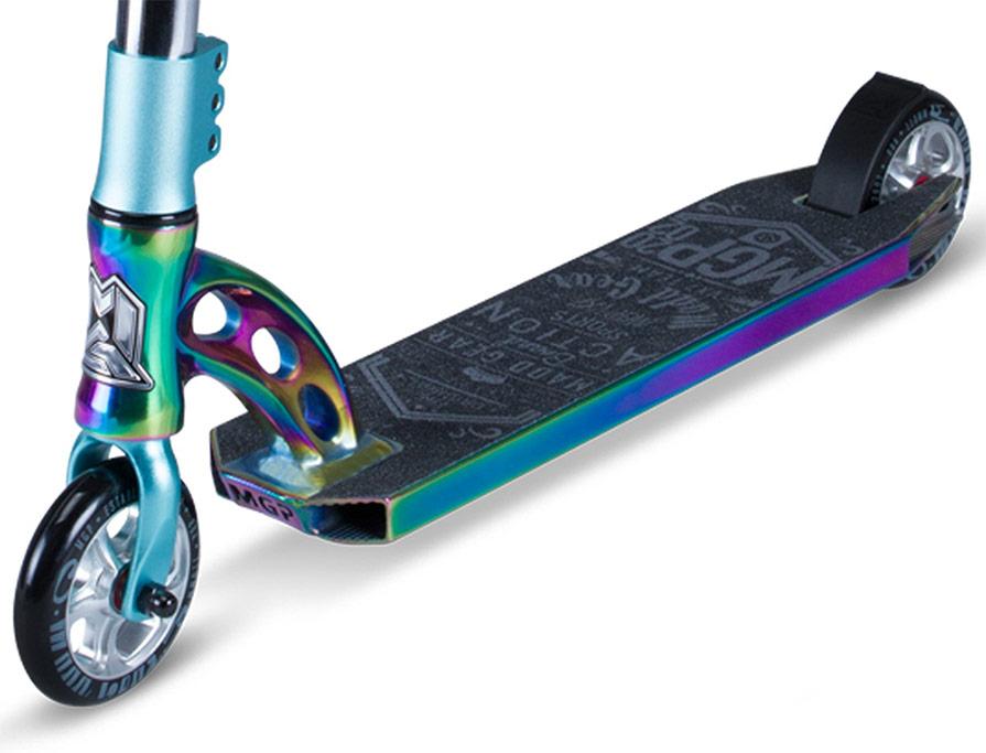 MADD MGP VX7 Team Limited Edition Scooter in Neochrome and Teal