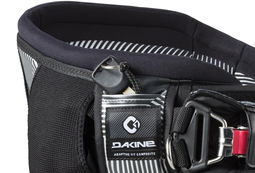 Dakine C1 Maniac Kiteboard Harness in Black key pocket