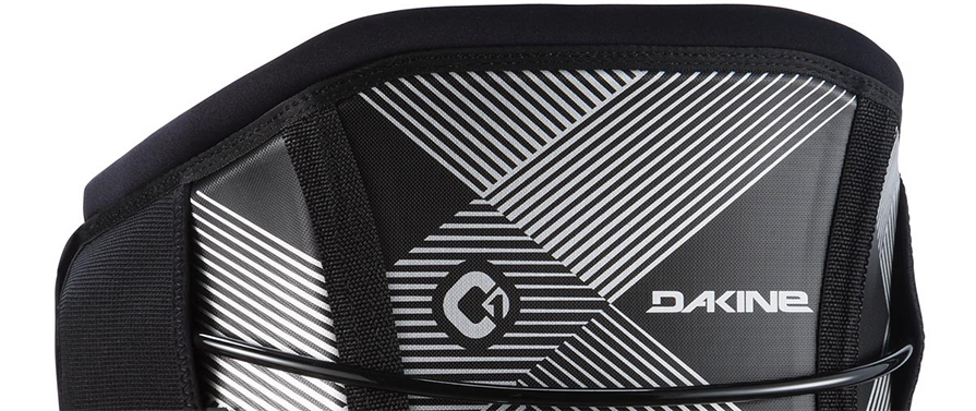 Dakine C1 Maniac Kiteboard Harness in Black Adaptive Fit Composite with Texon back in listing