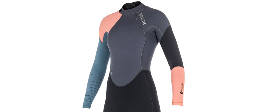 Mystic Dutchess 5/4mm Womens BZ Winter Wetsuit Pewter in listing