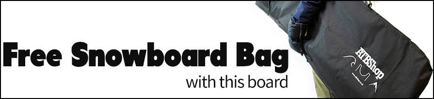 in listing free board bag banner with this snowboard