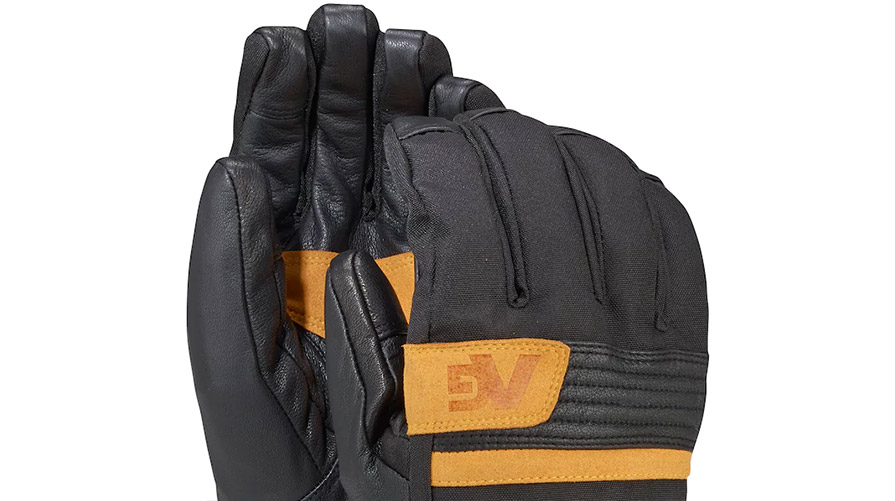 Analog Mens Diligent Snowboard Glove in True Black in listing close up