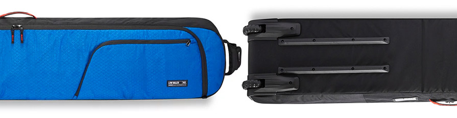 Dakine Low Roller Scout Blue Wheeled Snowboard Luggage Bag