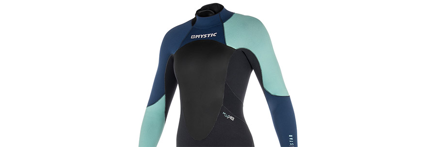 Mystic Star 3/2mm Womens Full Summer Wetsuit Navy in listing