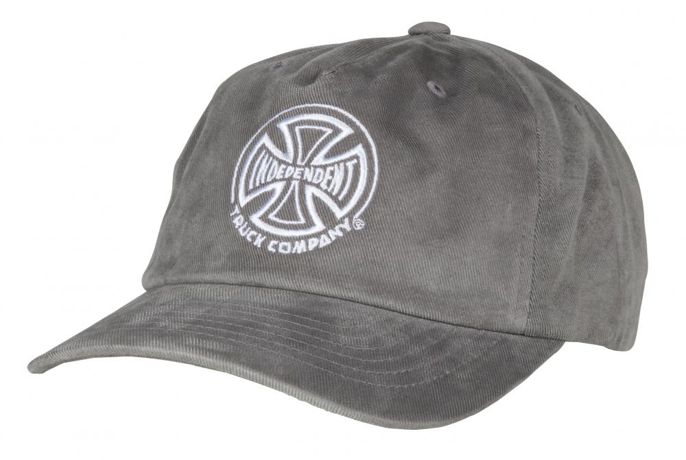 Independent TC Skateboard Hat Cap in Charcoal Grey