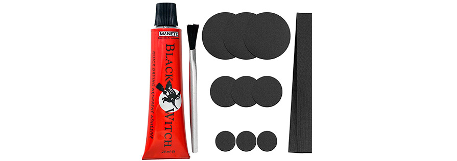 C-Skins Black Witch Neoprene and wetsuit Repair Kit in listing neoprene patches