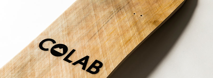 Colab Mountainboard Deck Graphics