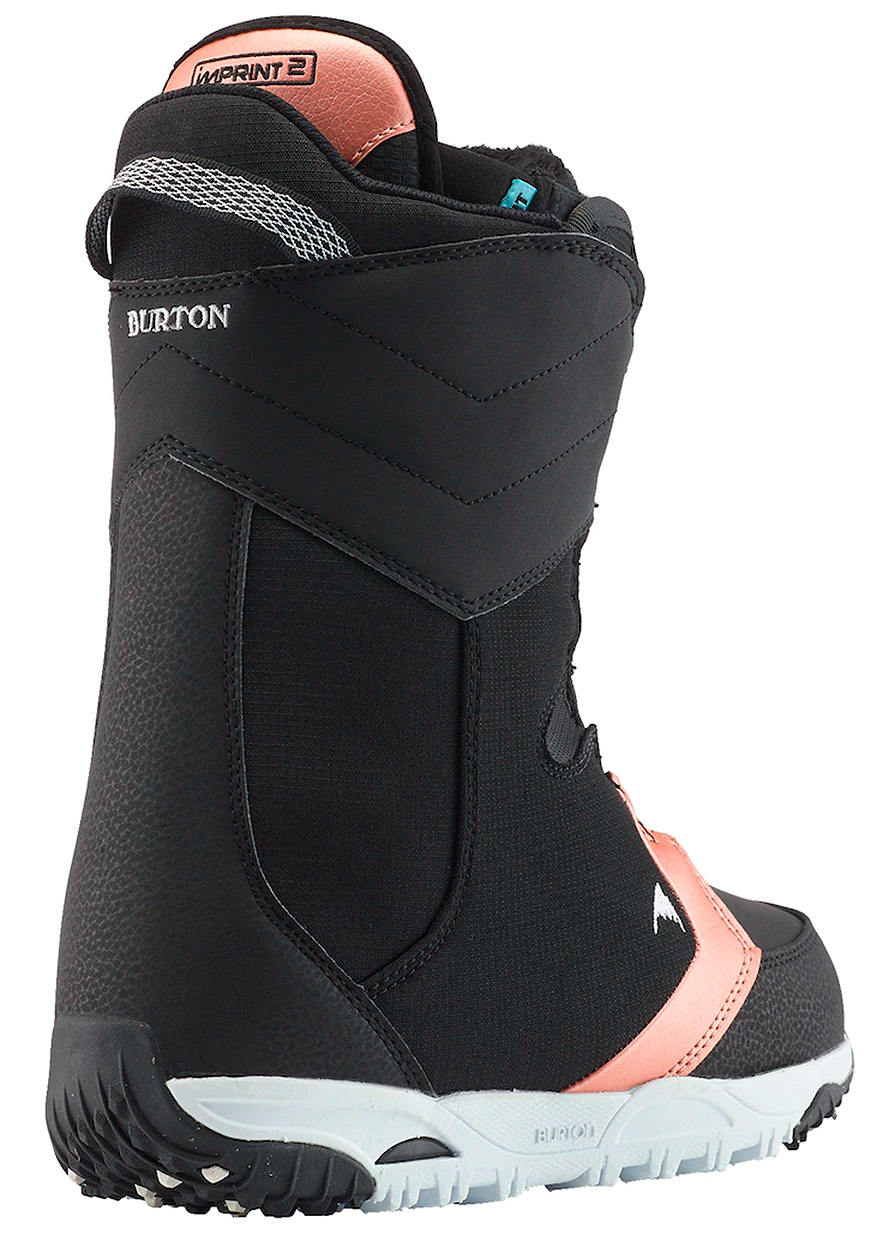 Burton Limelight Boa Womens Snowboard Boots Rear Details