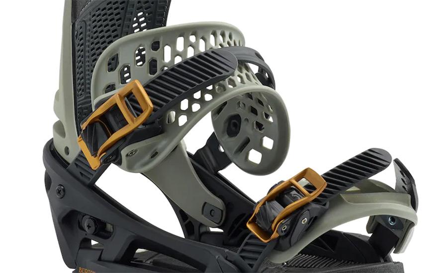 f808c203e83 burton malavita est snowboard bindings in black and grey front listing