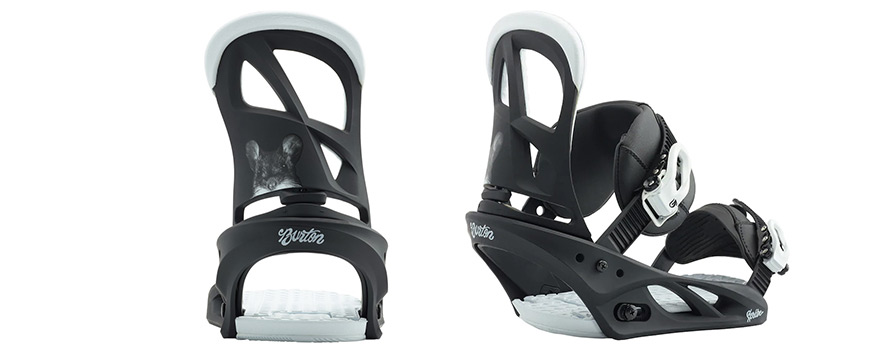 Burton Rewind Womens Freestyle Snowboard Package Scribe Squeek Bindings