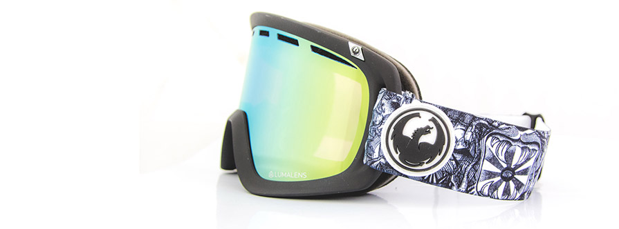 Dragon D1 OTG Kengo Dap Lumalens Gold Ion Snow Goggles in listing