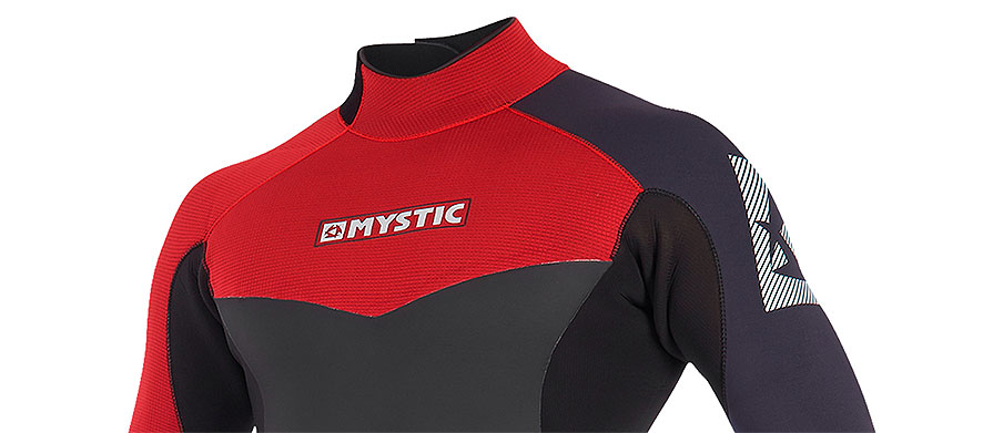 Mystic Drip 4/3mm Bordeaux Long Arm Short Leg Wetsuit