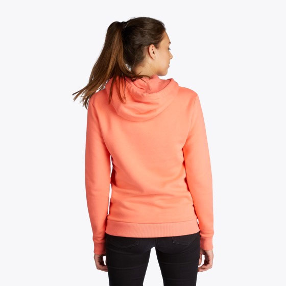 Mystic Brand Hoodie Faded Coral Front