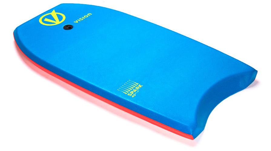 Vision Spark Bodyboard Blue Red