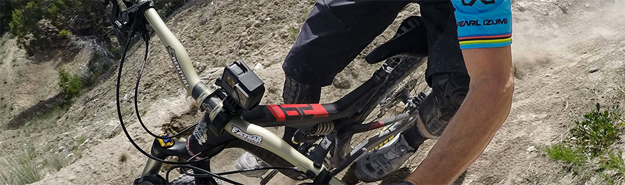 GoPro Mountainbike Handlebar Clamp mount