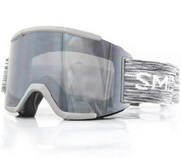 Smith Squad Grey ChromaPop Platinum Sun Snow Goggles