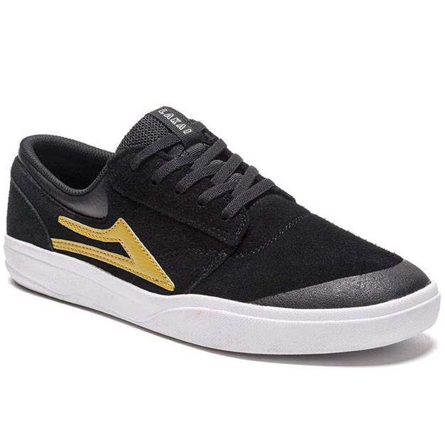 Lakai Griffin XLK Black and Gold