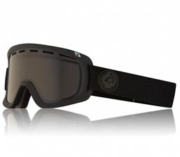 Dragon D1 OTG Murdered Dark Smoke Snowboard Goggles