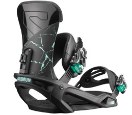 Salomon Vendetta Black Marble Women Snowboard Binding