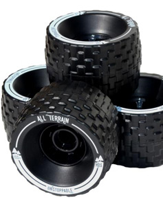 MBS All Terrain Longboard Wheels