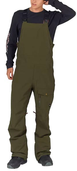 Analog Breakneck Forest Night Mens Snowboard Bib Pant