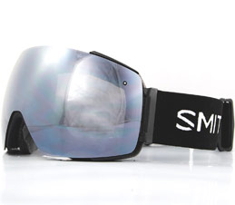 Smith I/O Mag Black ChromaPop Platinum Snow Goggles