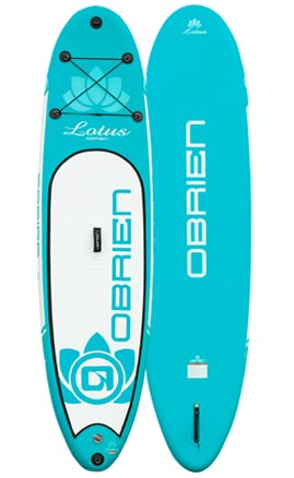 OBrien Lotus 10ft 6in x 30in Inflatable Paddleboard Package