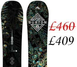 Burton Flight Attendant Mens Snowboard