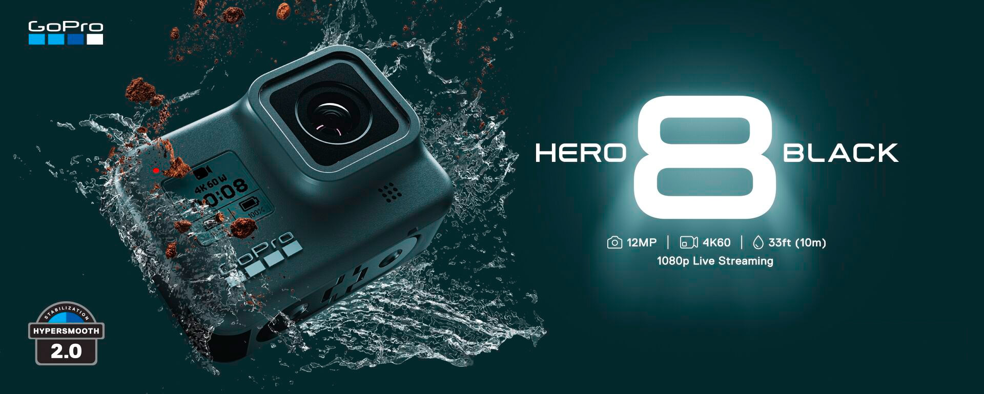 GoPro HERO8 Black Now Available