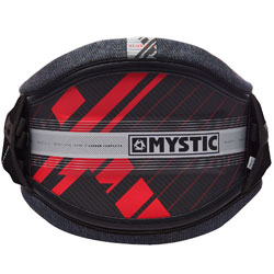 Mystic MajesticX Mens Navy Red Carbon Hard Shell Kite Waist Harness