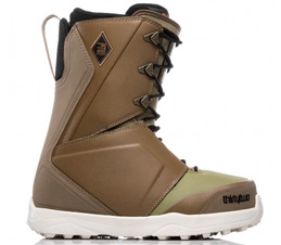 Thirty Two Lashed Bradshaw Brown Green Snowboard Boots