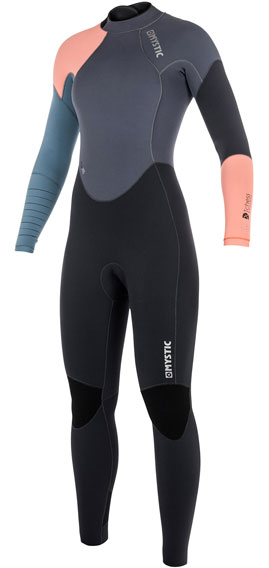 Mystic-Dutchess-5/4mm-Womens-Back-Zip-Winter-Wetsuit-Pewter