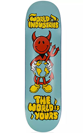 World Industries World Is Yours 8.25 Skateboard Deck Graphic