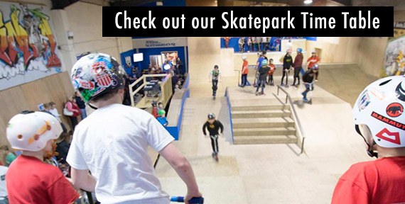Indoor Skate Park in Swindon