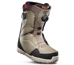 Thirty Two Lashed Double Boa Bradshaw Olive Snowboard Boots