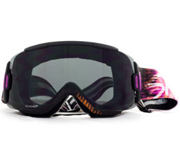 Smith Squad Snow Goggle Sunset Palms Blackout