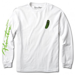 Primitive Long Sleeve R&M Pickle Rick T-shirt