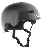 TSG Evo Helmet in Injected Black