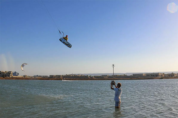 Kitesurfing in Egypt on ATBShop Kite Trip