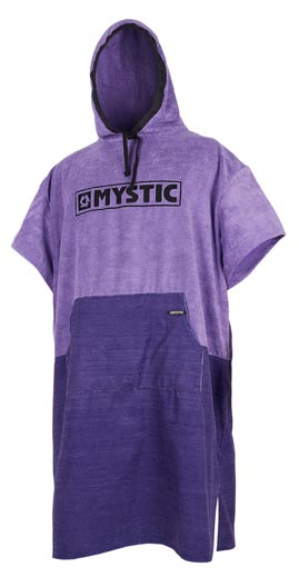 Mystic Poncho Regular Purple Changing Robe