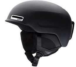 Smith Maze Snowboard Helmet in Matte Black 2019