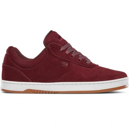 Etnies Joslin Skate Shoe in Burgundy